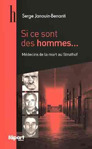 Si ce sont des hommes, éditions L'àpart